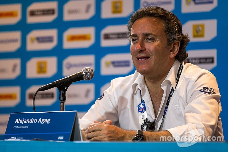 Агаг: Формула Е – не конкурент Формуле 1