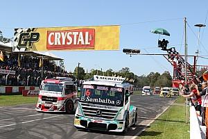 Fórmula Truck Relato da corrida Wellington Cirino vence em Guaporé