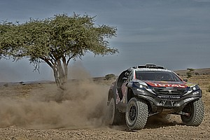 Cross-Country Rally Leg report Loeb's Dakar preparation hindered by mechanical failure