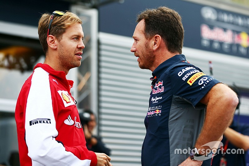 """Vettel can't """"imagine"""" Red Bull pulling out as engine crisis deepens"""