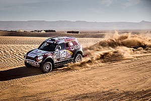 Dakar Résumé de course Maroc, étape 5 - Victoire finale d'Al-Attiyah, Hirvonen 5e