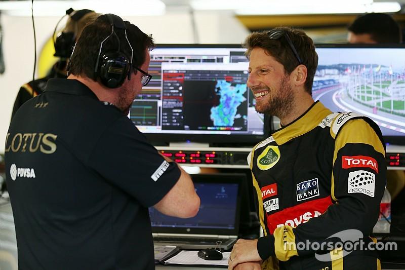 """Lotus - """"Un effort solide"""" de Romain Grosjean"""