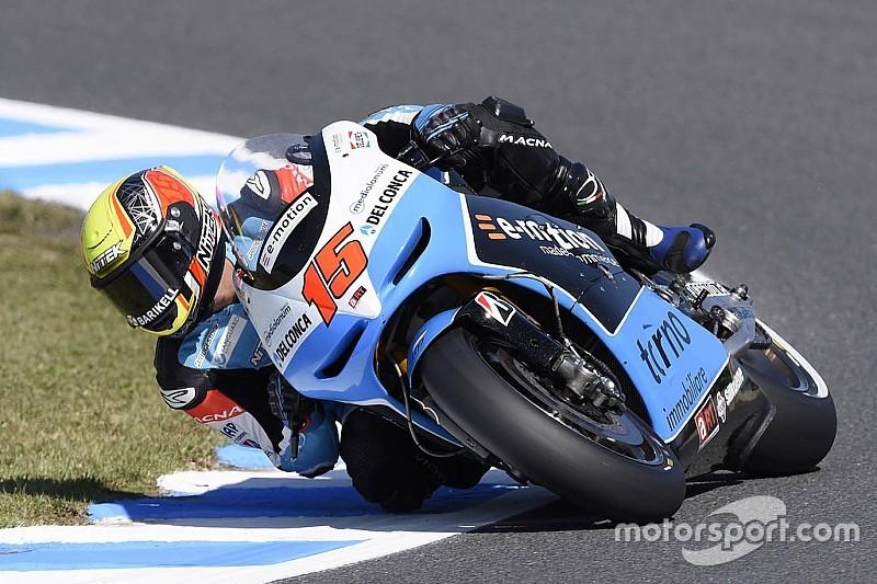 """Rossi criticises """"dangerous"""" Motegi after de Angelis crash"""