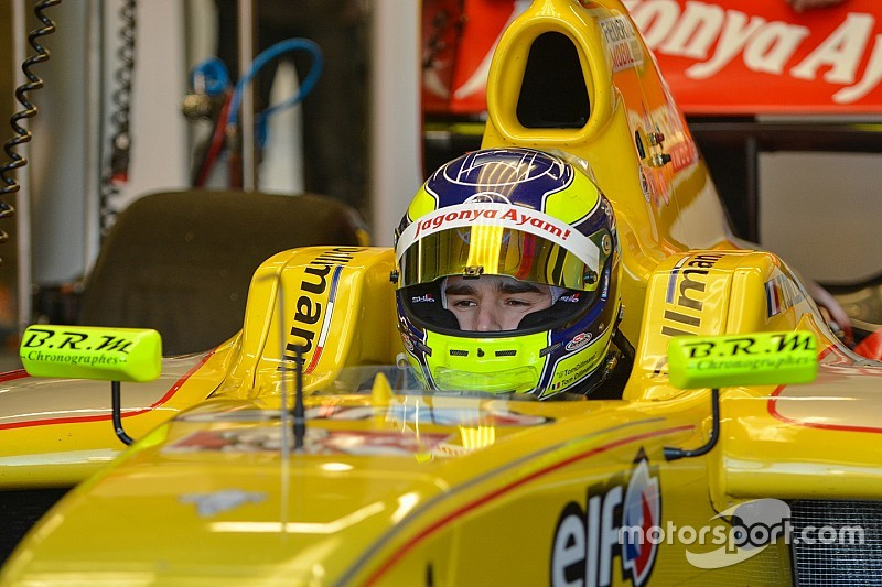 Jerez FR3.5: Dillmann beats Rowland to claim maiden pole