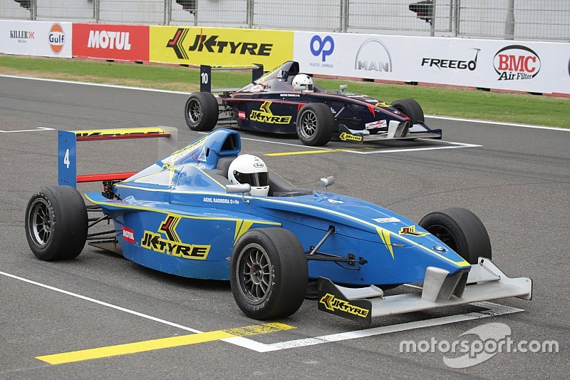 Prasad wins the second JK Tyre race of the weekend