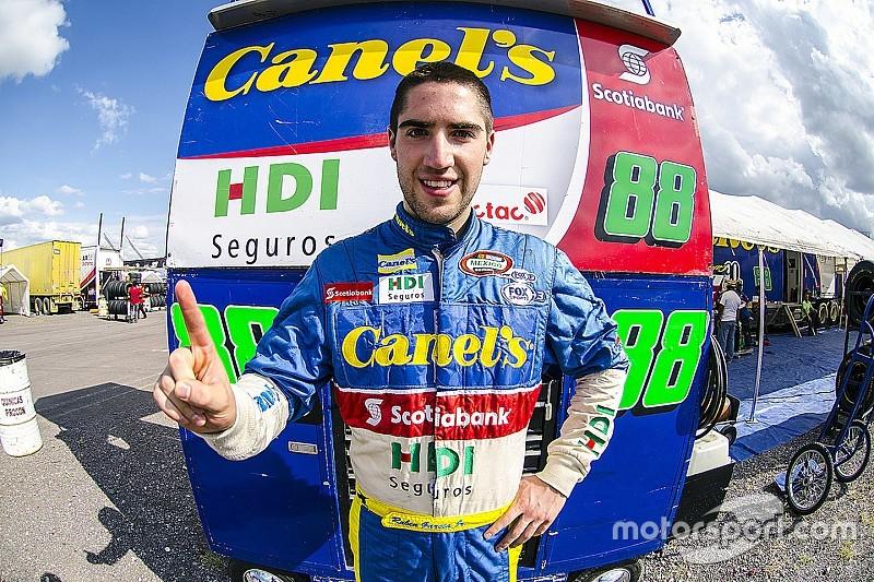 Rubén García Jr. consigue la pole position en Aguascalientes
