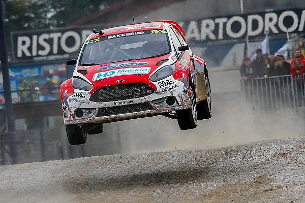 Ралли-Кросс Баккеруд одержал первую победу в сезоне
