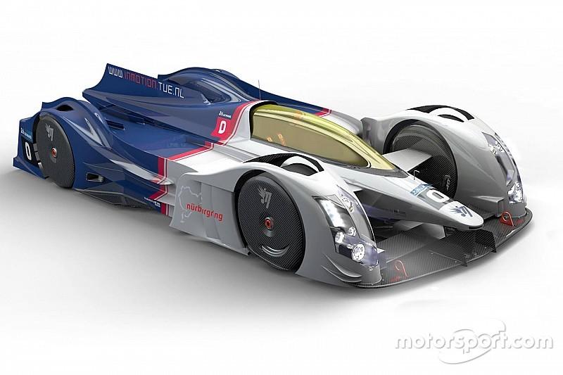 Drift Racing Cars In Garage