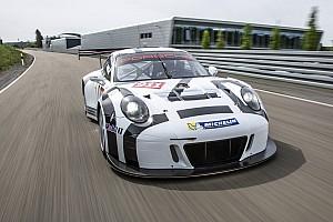 VLN Actualités Première sortie en compétition positive pour la nouvelle Porsche 911 GT3 R