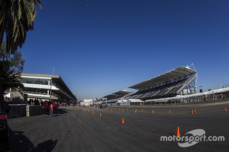 Le circuit de Mexico prêt pour l'inspection finale de la FIA
