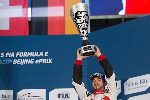 Formula E More to come from Mahindra, says Heidfeld