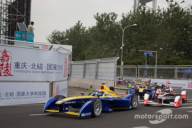 A Pechino soltanto Buemi da bandiera a bandiera