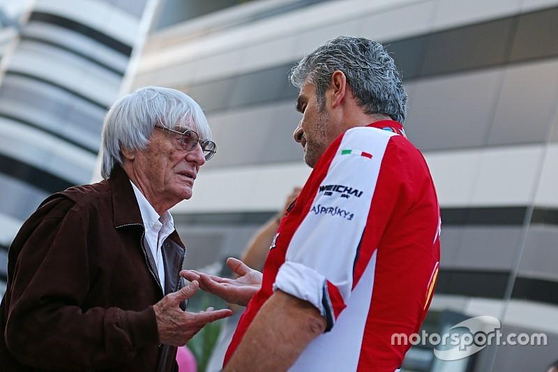 Экклстоун обвинил Ferrari и Mercedes в трусости