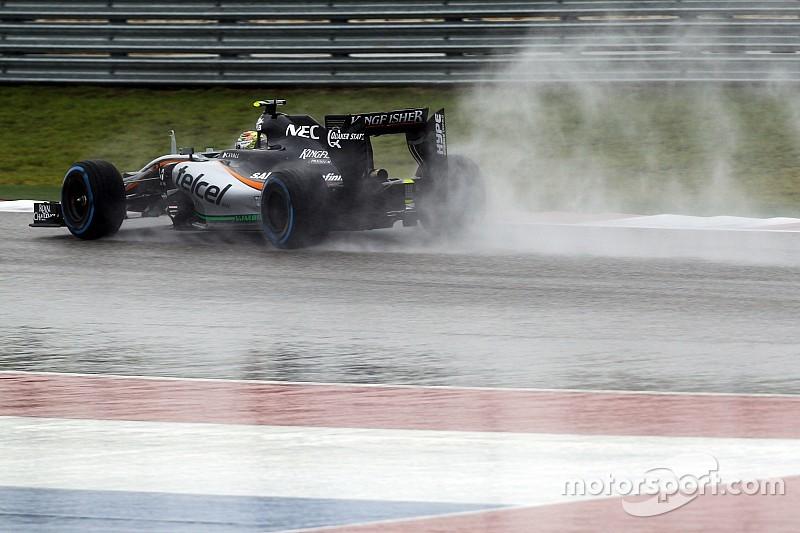 """Pérez attend """"beaucoup de pression et de tension"""" lors du GP"""