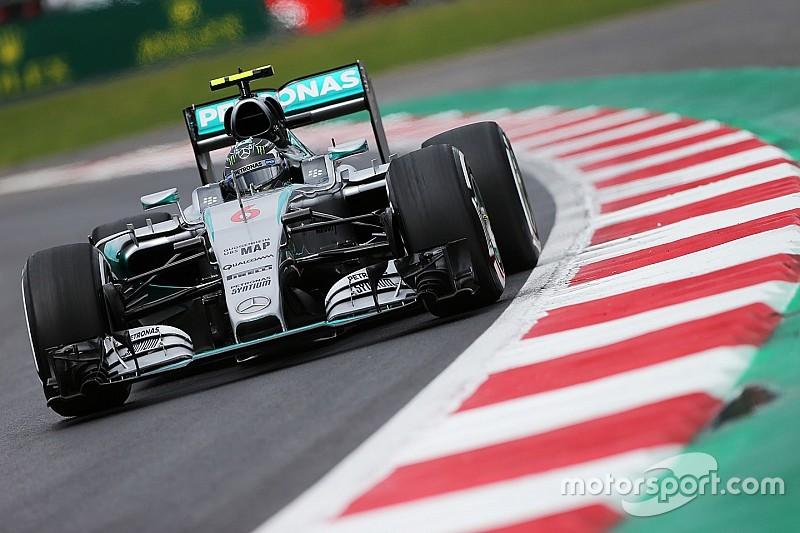 GP Mexiko: Mercedes-Fahrer Nico Rosberg wieder Schnellster