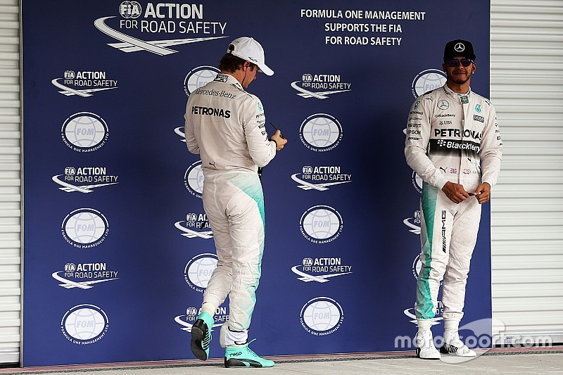 Mercedes won't force pre-race agreement between Hamilton and Rosberg
