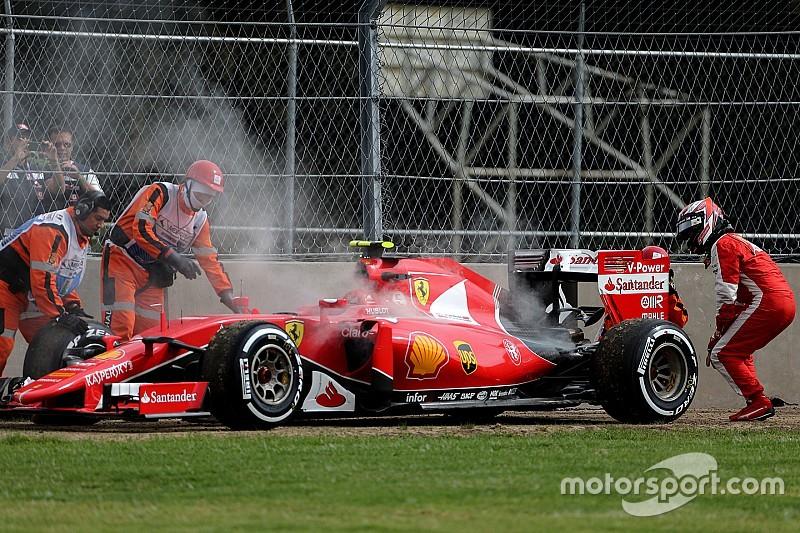 Raikkonen cambia el motor para la carrera