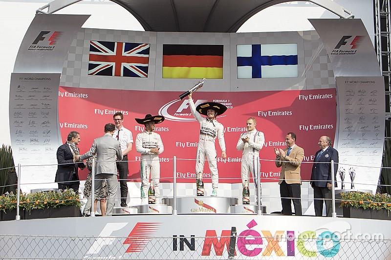 Nico Rosberg ganó el Gran Premio de México