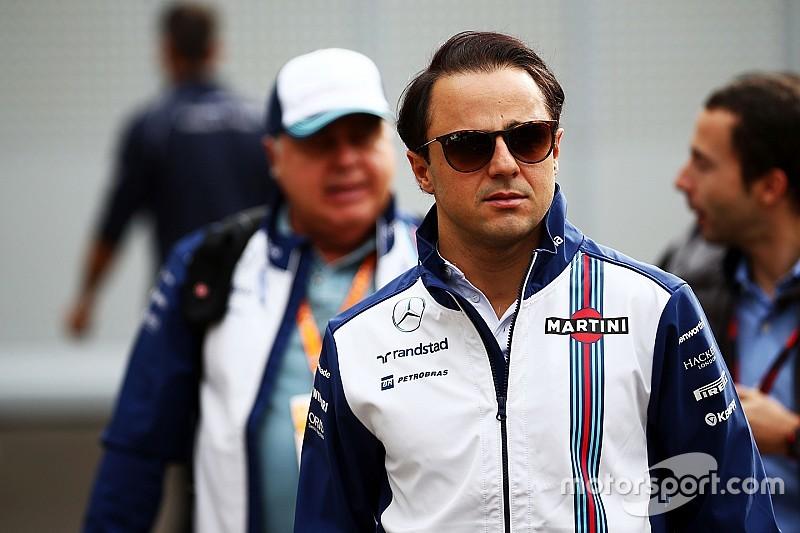 """""""Um pouco desapontado"""" com 6º, Massa destaca pódio de Bottas"""