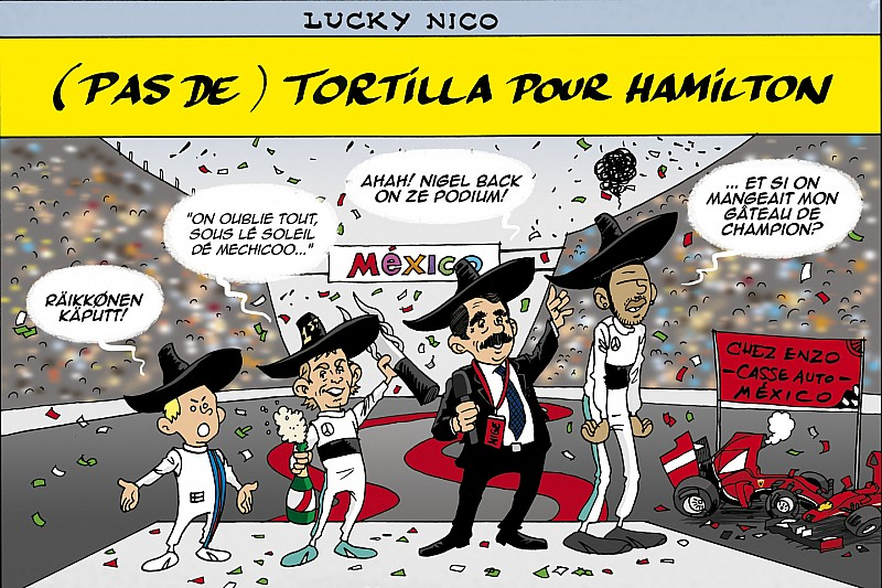 Le Grand Prix du Mexique vu par Cirebox!