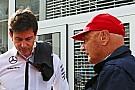 Lauda in rotta con Wolff, lascerà la Mercedes