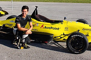USF2000 Breaking news Pelfrey driver Megennis graduates to USF2000 for 2016