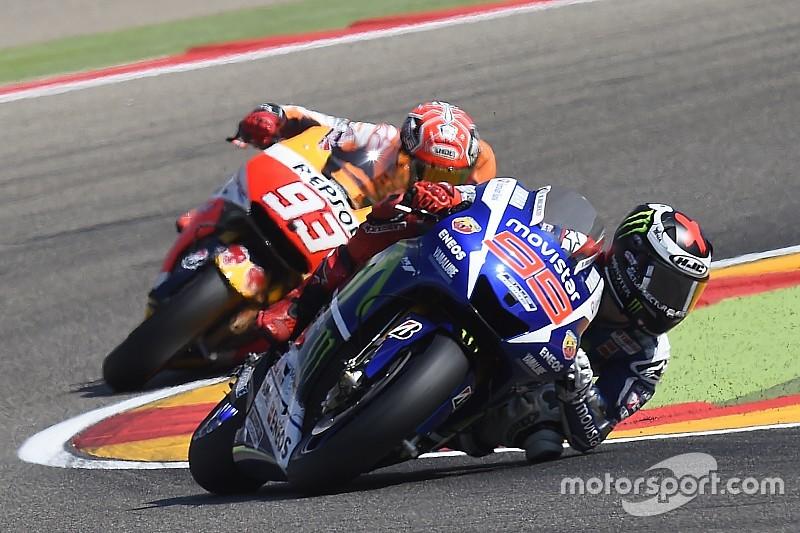 """Valentino Rossi: """"Marc Marquez war der Bodyguard von Jorge Lorenzo"""""""