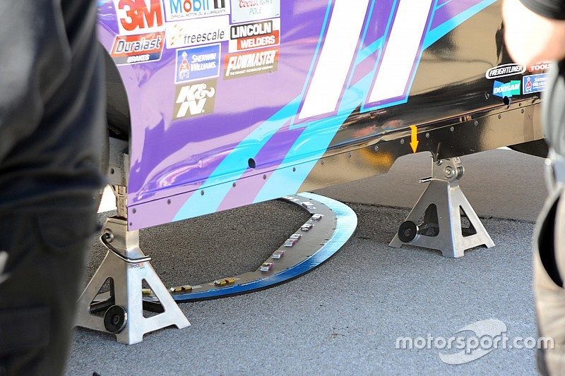 NASCAR confiscates Joe Gibbs Racing splitters