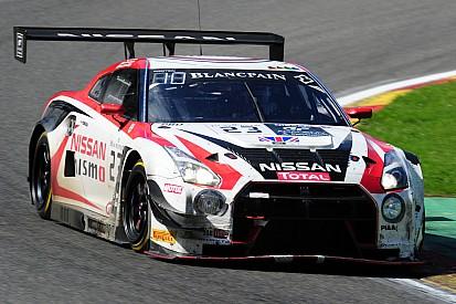 GT Academy winner Matt Simmons has first test of Nissan GT-R NISMO GT3 – video