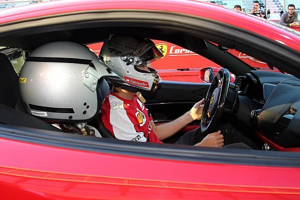Cam 360: volete fare un giro con Vettel al Mugello?