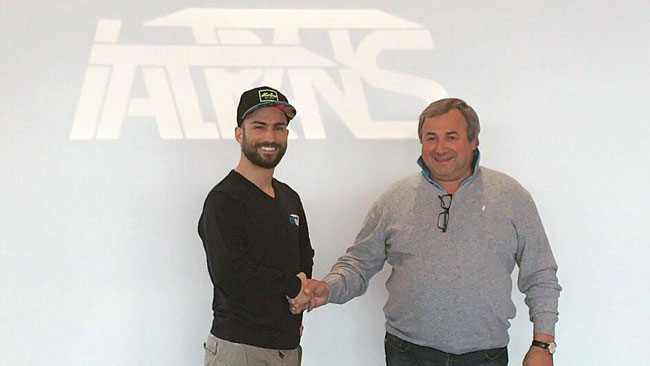 Il Team Italtrans ingaggia Mattia Pasini per il 2016