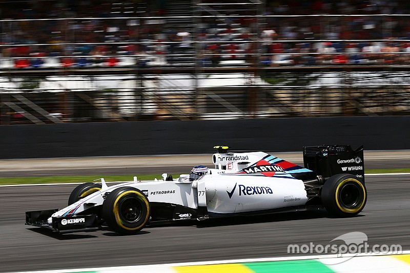 Bottas finished fifth and Massa eighth before being excluded from results in today's Brazilian GP