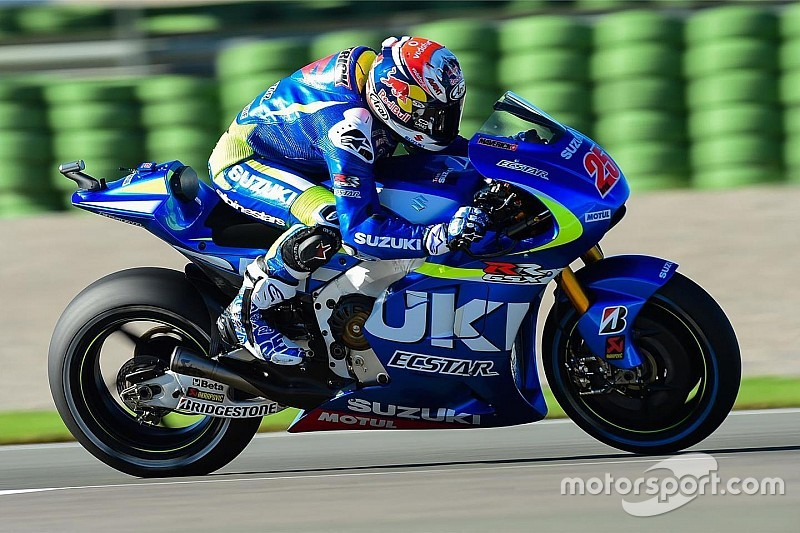 Suzuki: Terminar en el podio en 2016 sería un sueño