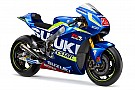 Suzuki lança pintura da moto de 2016 em feira na Itália