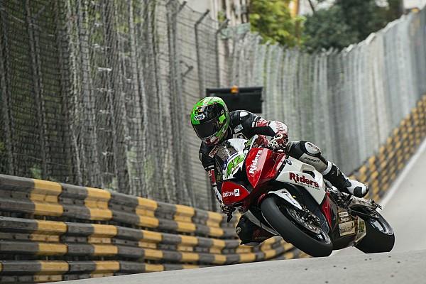 GP Macau: BMW-Fahrer Martin Jessopp auf der Pole-Position