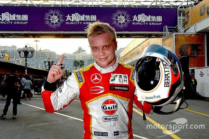 Rosenqvist kwalificeert voor tweede jaar op rij als snelste in Macau