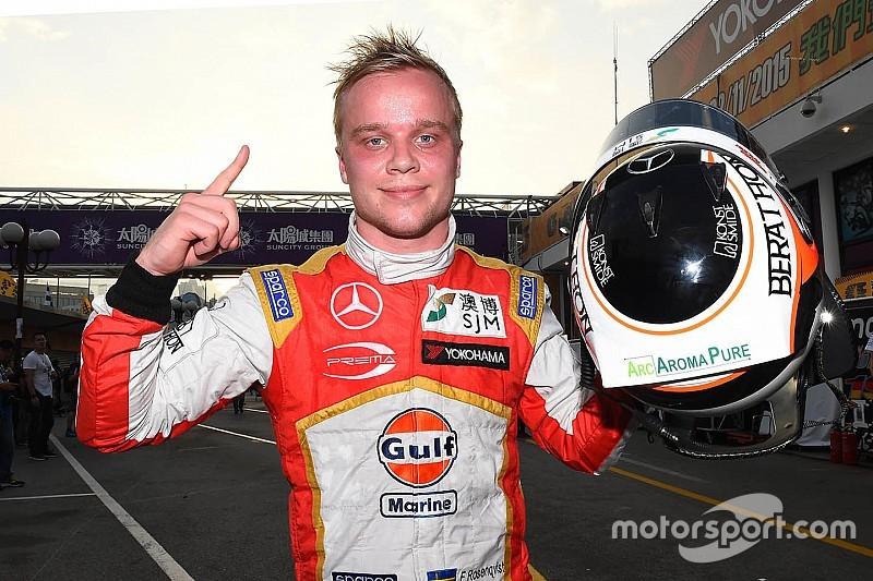 Rosenqvist remporte la course qualificative sur tapis vert
