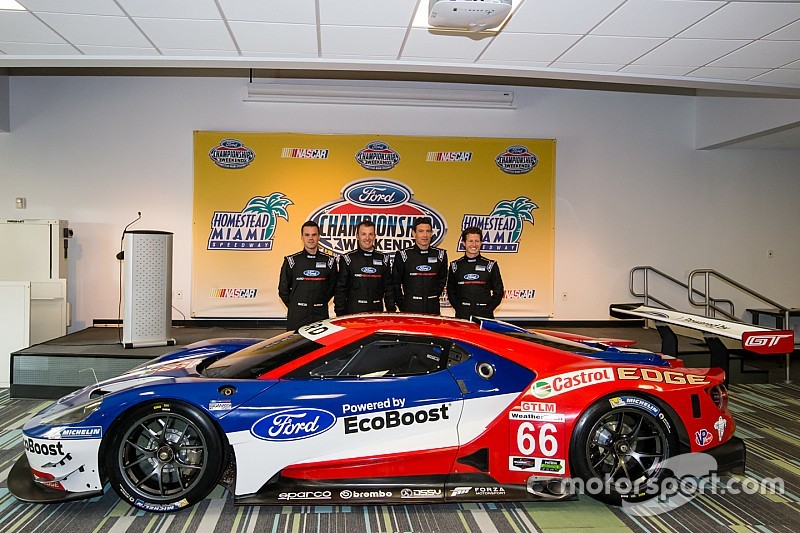 Ganassi officially names full-season Ford GT drivers