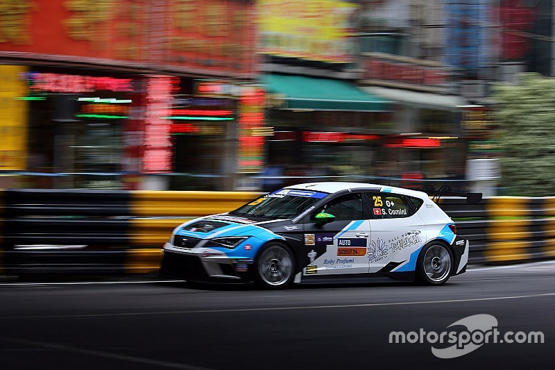 Comini TCR champion after Macau crash chaos