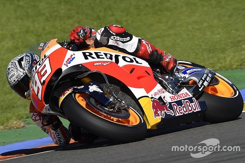 Márquez completó 65 vueltas en Jerez
