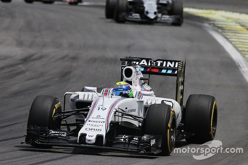Massa dice que Williams no hizo nada malo en Brasil