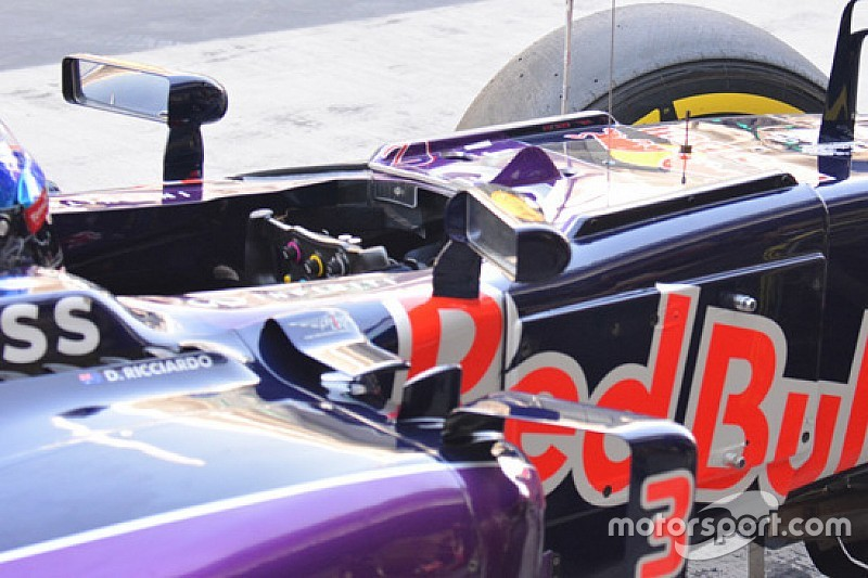 Red Bull: test di visibilità con le nervature sulla scocca