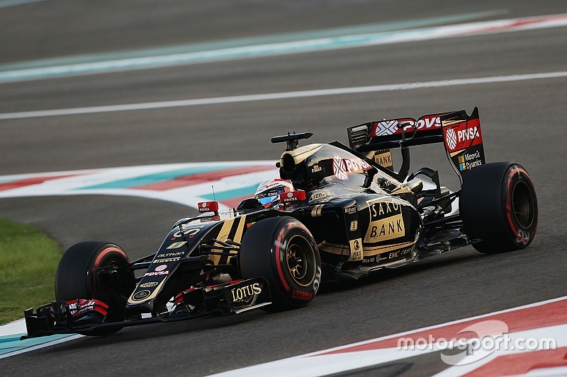 A frustrating qualifying session for Lotus at Abu Dhabi