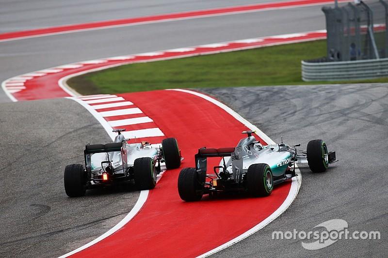 Wolff herhaalt waarschuwing voor Hamilton en Rosberg