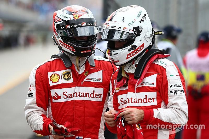 Räikkönen - La bonne entente avec Vettel soulage Ferrari