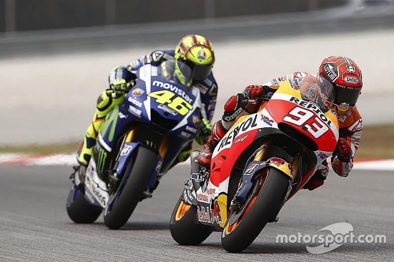 Marc Márquez aplaude decisión de Valentino Rossi