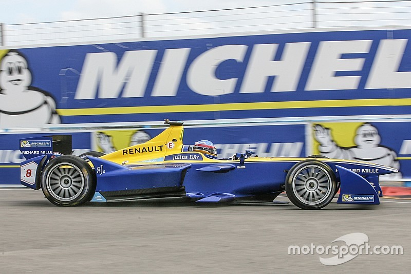 Punta ePrix: Prost quickest in FP2, Buemi hits the wall