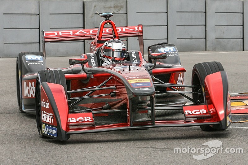 Punta ePrix: D'Ambrosio leads Dragon front-row lockout