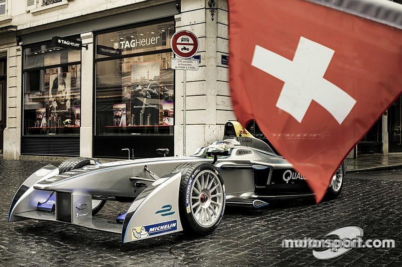 Швейцария сделала исключение для Формулы Е