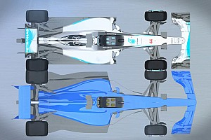 Formula 1 Special feature Video: F1's 2017 and current cars compared